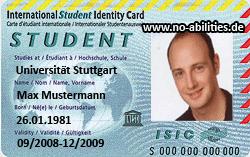 Internationaler Studentenausweis