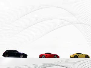 Porsche - Schwarz - Rot - Gold